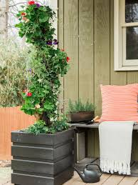 how to make a vertical garden with pvc pipe hgtv