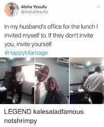 Aisha Meme - aisha yesufu in my husband s office for the lunch l invited myself