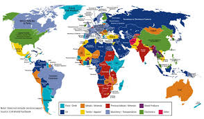 africa map 54 countries which are economies exports world economic forum