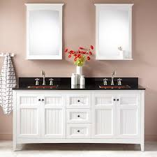 Bathroom Vanity With Copper Sink 72