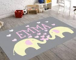 elephant rug etsy