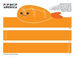 diy printable shrimp hat for kids free printables u2013 pop shop america