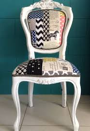 Patchwork Upholstered Furniture - bold funky quilted patchwork upholstery hometalk