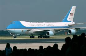 aircraft design what is this on top of the air force one