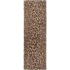 Leopard Print Runner Rug Charming Ideas Animal Print Runner Rug Rugs Inspiring