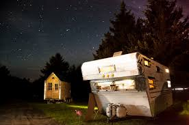 four lights tiny house tiny houses the comet camper