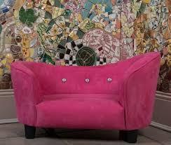 Dog Blankets For Sofa by Lily Bud Microfiber Dog Sofa Bed Pink Designer Dog Beds At