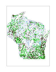 Map Of Northern Wisconsin by Fishes Of Wisconsin