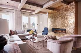 stylish and sophisticated apartment with dallas skyline views luxury apartment interior r brant design 05 1 kindesign