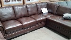 Costco Sofa Leather Furniture Costco Sleeper Sofas Costco Brown Leather