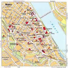 Kaiserslautern Germany Map by Mainz Map
