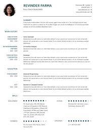 cv templates professional curriculum vitae templates