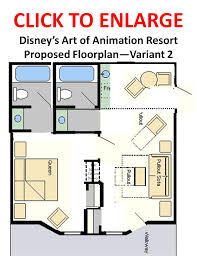 disney art of animation suite floor plans pictures to pin on