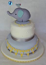 baby shower elephant cake dolce ladybug
