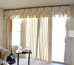Valances For French Doors - sliding door valance neat on in sliding french doors home design