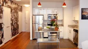 kitchen stainless steel kitchen island with seating beingness