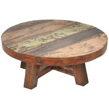coffee table stylish round wooden coffee table design ideas