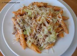 penne with italian sausage and cabbage tasty kitchen a happy