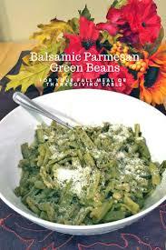balsamic parmesan green beans