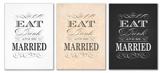 eat drink and be married invitations wedding invitation templates eat drink and be married wedding