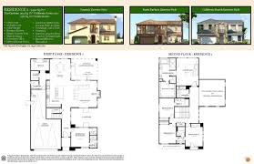 citrus lane floor plans model home gallery plan one