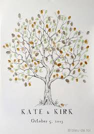 wedding trees wedding tree guest book achor weddings