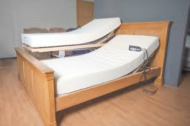 Lifting Bed Frame by High Low Mechanism Vertical Lift Carer U0027s Bed Care To Comfort