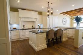 kitchen room design natural wood kitchen table round granite