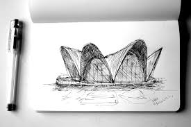 ink in process 6 architectural pen speed drawing youtube