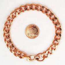 copper link bracelet images Custom copper heavy curb link bracelet cbc76m solid copper jpeg