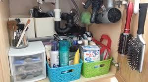 Bathroom Cabinet Organizer Ideas Simple Bathroom Sink Organizer Design Decor Fancy To Bathroom Sink