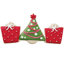 tree presents trio cookie cutter wilton