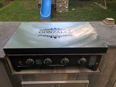 blackstone griddle surround table stainless cover for blackstone griddle the bbq brethren forums