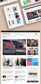 reporting website templates awesome news website home page template free psd news