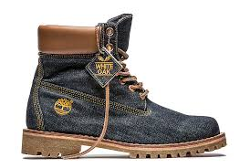 timberland canada s hiking boots limited edition white oak denim boot collection timberland com