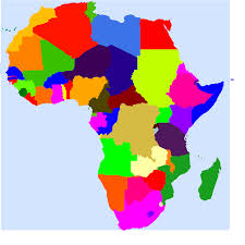 africa map color africa clip at clker vector clip royalty