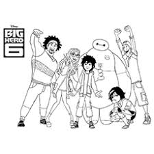 25 Big Hero 6 Coloring Pages