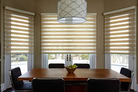 Modern Window Blinds And Shades - dinning grey blinds window treatments for french doors fabric