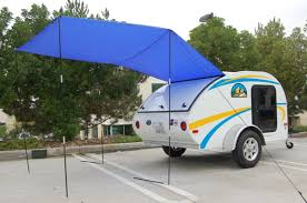 Awning For Tent Trailer Little Guy Worldwide Pahaque Custom Shop Custom Camper Tent