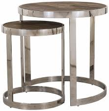 side table set of 2 buy maddox round corner side table set of 2 online furntastic