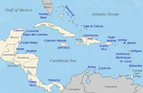 carribbean map map of caribbean tourist destinations
