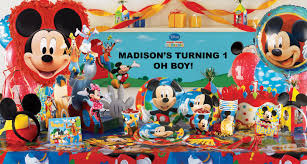 mickey mouse clubhouse party supplies mickey mouse clubhouse decorations party city mickey mouse