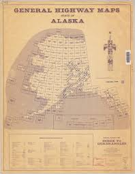 Alaska Map With Cities And Towns by Digital Map Indexes