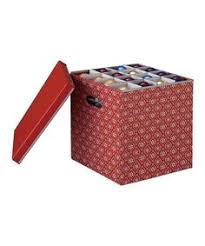 the ornament storage box keeps your ornaments clean and