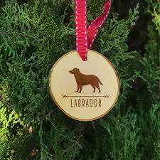 labrador christmas ornament labrador dog ornament labrador