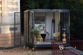 bureau de jardin en kit un cube dans mon jardin un bureau dans mon jardin une chambre dans