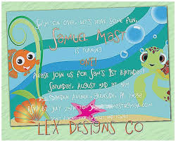 finding nemo baby shower baby shower invitation finding nemo baby shower invitations