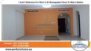 1 2 Bedroom For Rent 1 And 2 Bedroom For Rent In Al Muraqqabat Close To Metro Station Dubai