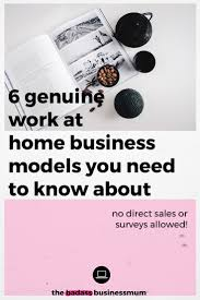 Graphic Design Works At Home 6 Genuine Work At Home Business Models You Need To Know About