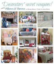 How To Store Pillows | using pillows and throws for seasonal decor how to store and